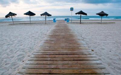 Costas paraliza los servicios de temporada en las playas de Castellón